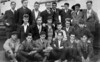 Jack McGowan center row 2nd from left, Stanley 3rd from left, on their way to Australia