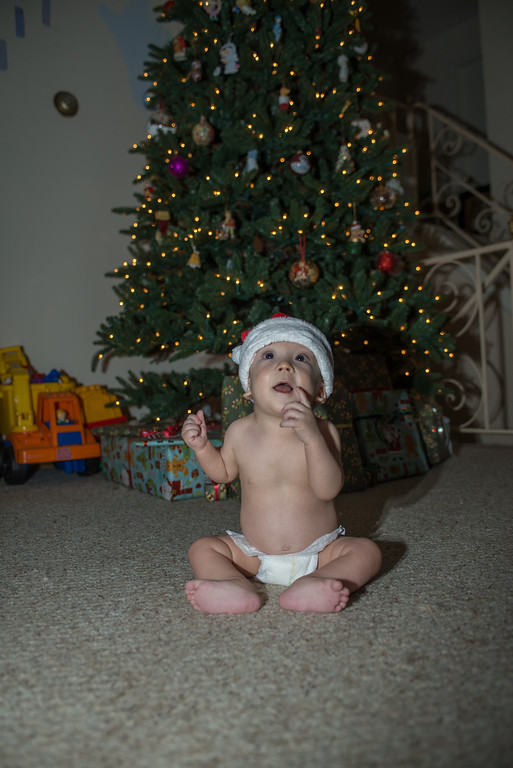 Caleb Christmas Card Photos