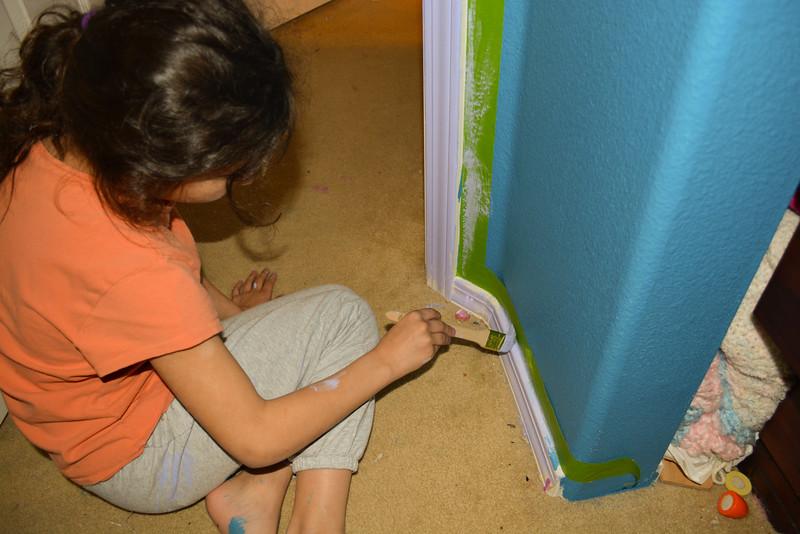 Painting Kaylee's Room