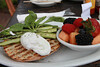 Monica's Asparagust Florentine sans sauce
