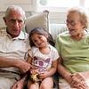Uncle Joe, Laela and Grandma Rose