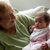 Scarlette with Grandma Rose
