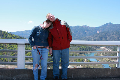 Richard and Tori at Shasta Dam