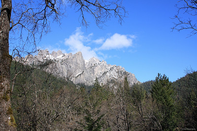 Castle Crag in the Siskiyou Moutains