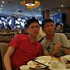 Dim sum at Koi Palace with Hy and Vinh.
