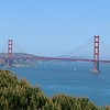 The Golden Gate Bridge on a beautiful sunny day...