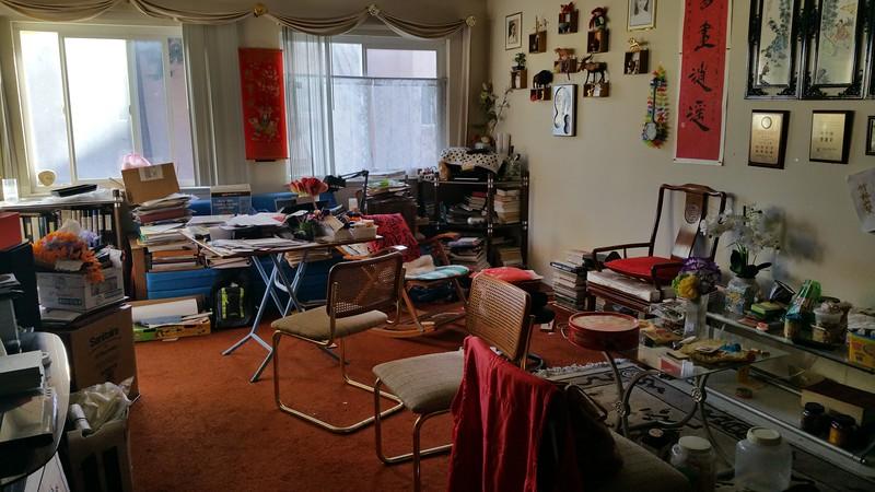 Parents' apartment condo - before...