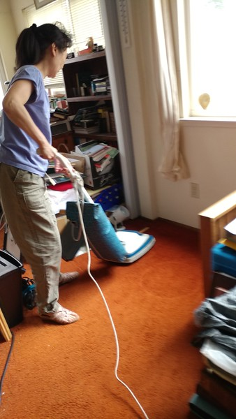 Now we can vacuum!...