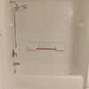 ...with fiberglass bathtub.