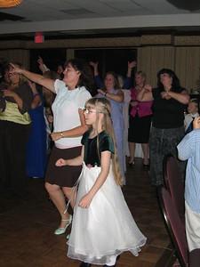 Natalie and Vania on the dance floor.