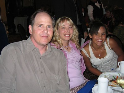 Harvey, Paris and Jasmine
