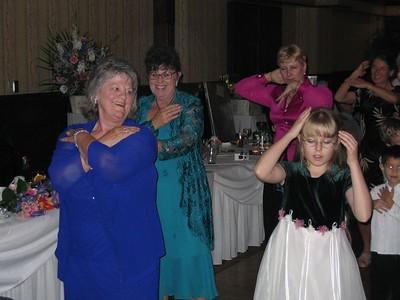 Shirley and Natalie do the Macarena