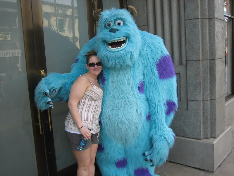 Got to love Sully from Monsters Inc.