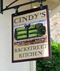 Lunch at Cindy's Backstreet Kitchen. Papaya and avocado salad, egg salad & smoked salmon sandwhich. No-Heato yummy drink.