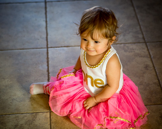 Callie Jo's First Birthday Party