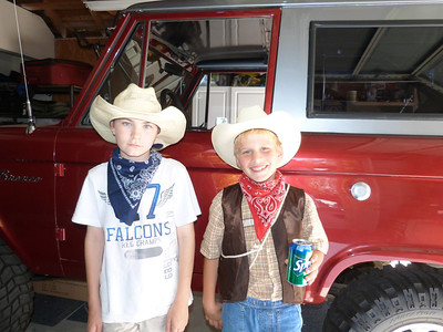 Evan and Byron and the Bronco