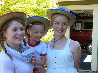 Christiana, Cambria, and Juliana--cousins!