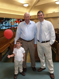 Three generations--Joey, Leroy, and Mark