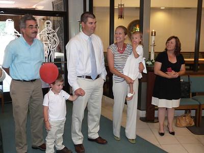 John, Joey, Mark, Ari & Cambria, and Emily