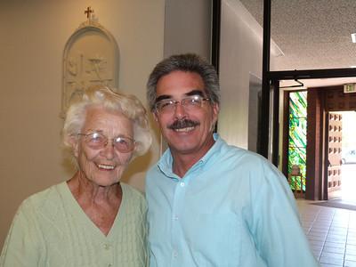 Mom & John