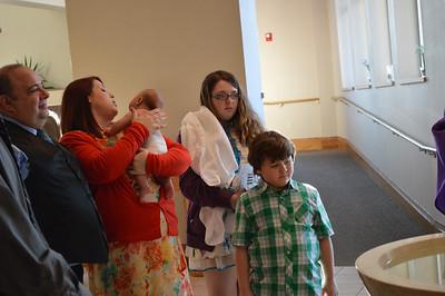 Camden Bojarski's Baptism