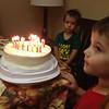 Thayden turns four.