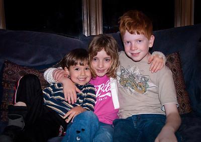 Ollie, Anna and Ben