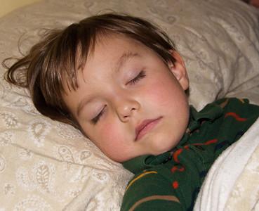 Ollie asleep 112509-3