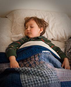Ollie asleep 112509-2