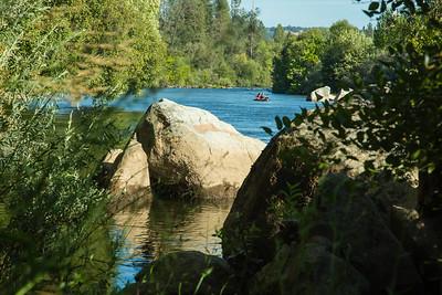Camping and Water Rafting
