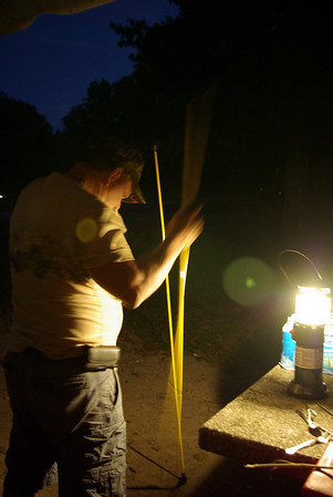 Camping at Gatlin Point 2010
