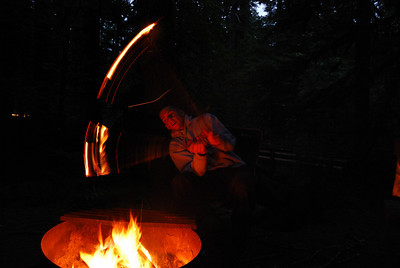 Camping at Indian Henry 2 - Playing With Fire