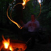 Campflre Fire Show - heart #1