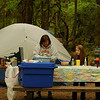 Camping at Indian Henry Campground, Clackamas River