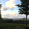 The view from Sally & Steve's place in Campton, NH. August 19-21, 2019.