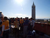 We join Tom and Nancy and their friends atop Campbell Hall for a pre-Big Game party. It's perfect up here!
