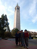 "The <a href=""http://visitors.berkeley.edu/free_tours.html"">campus tour</a> starts at Sather Tower at 10am"