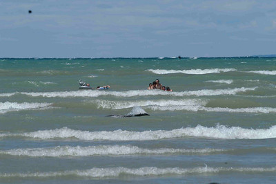 July 1, 2007 Canada Day at Bruce's Wasaga Beach Windy and Waves were high