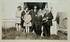 (Back) Helen, Grandma Cora, Grampa John L, GGrandma Fulmore, (Front) Gertrude, Dad Leslie, GGrandpa Fulmore