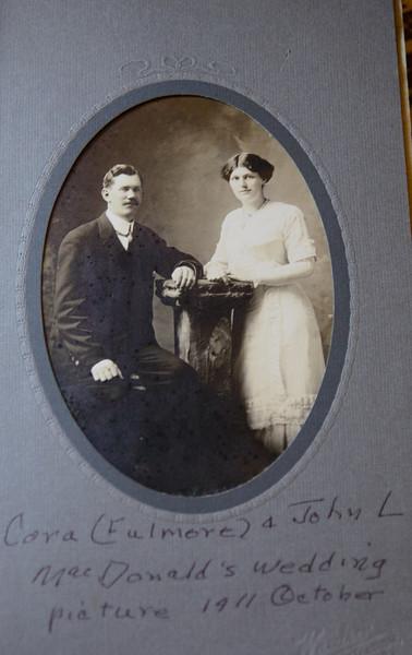 Grampa and Grandma MacDonald (Cora Fulmore and John L. MacDonald)