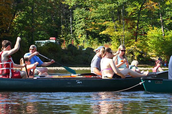 Canoe and Kayak trip