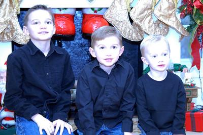 Cantrell Kids Christmas Photo Shoot