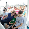 Enjoying the Whale Watching trip.  Conor was really having a good time.  He just wasnt showing it.