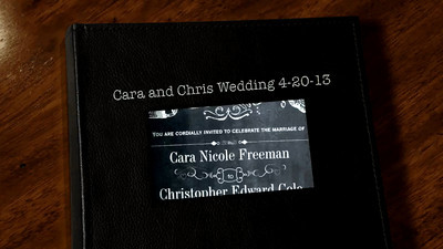 Cara and Chris Wedding 4-20-13 VIDEO