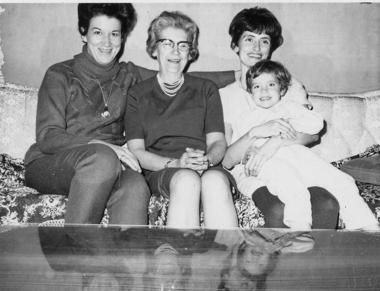 1966, Irene, Grandmere, Jeanne, Suzanne
