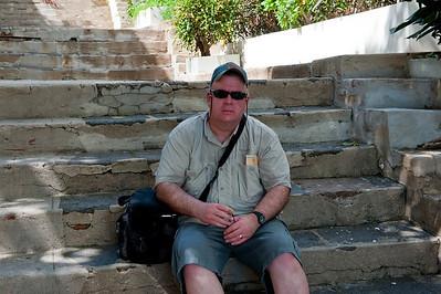 Charles in Old San Juan.