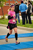 """Mile 26.1, almost there, and """"running on air."""""""