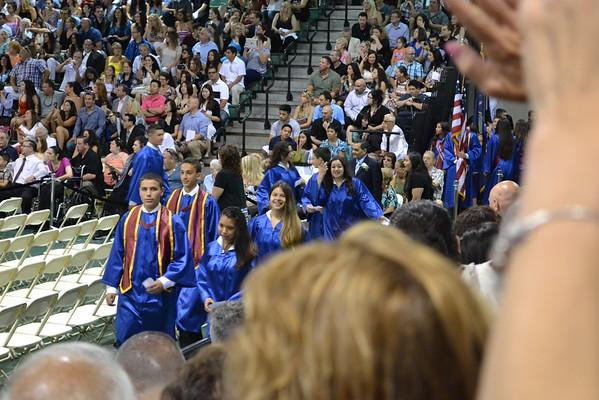 Bryanna's Middle School Graduation