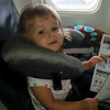 Maddy, the 'jet setter'.....