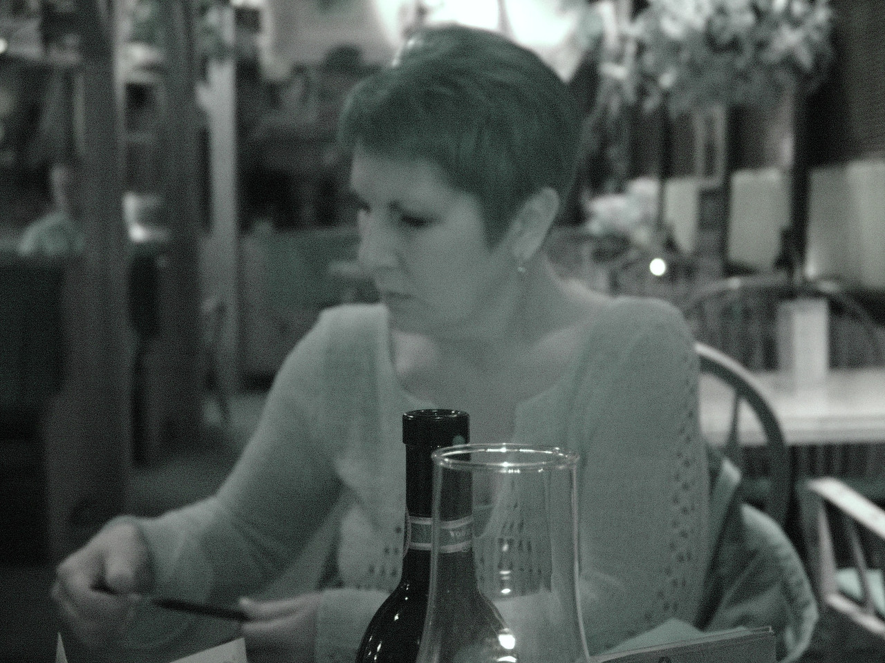 An infrared picture of Carol.